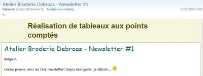 1ere newsletter 1