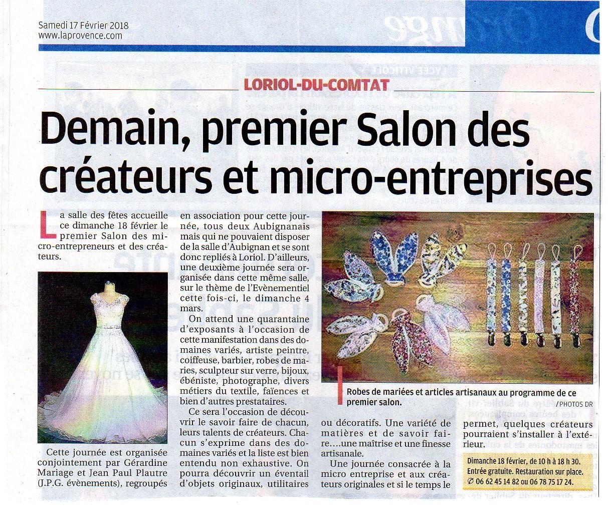 Salon des Micro-entrepreneurs et Créateurs