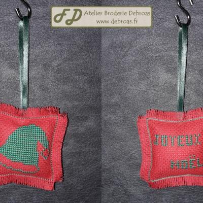Bonnet Vert sur Rouge