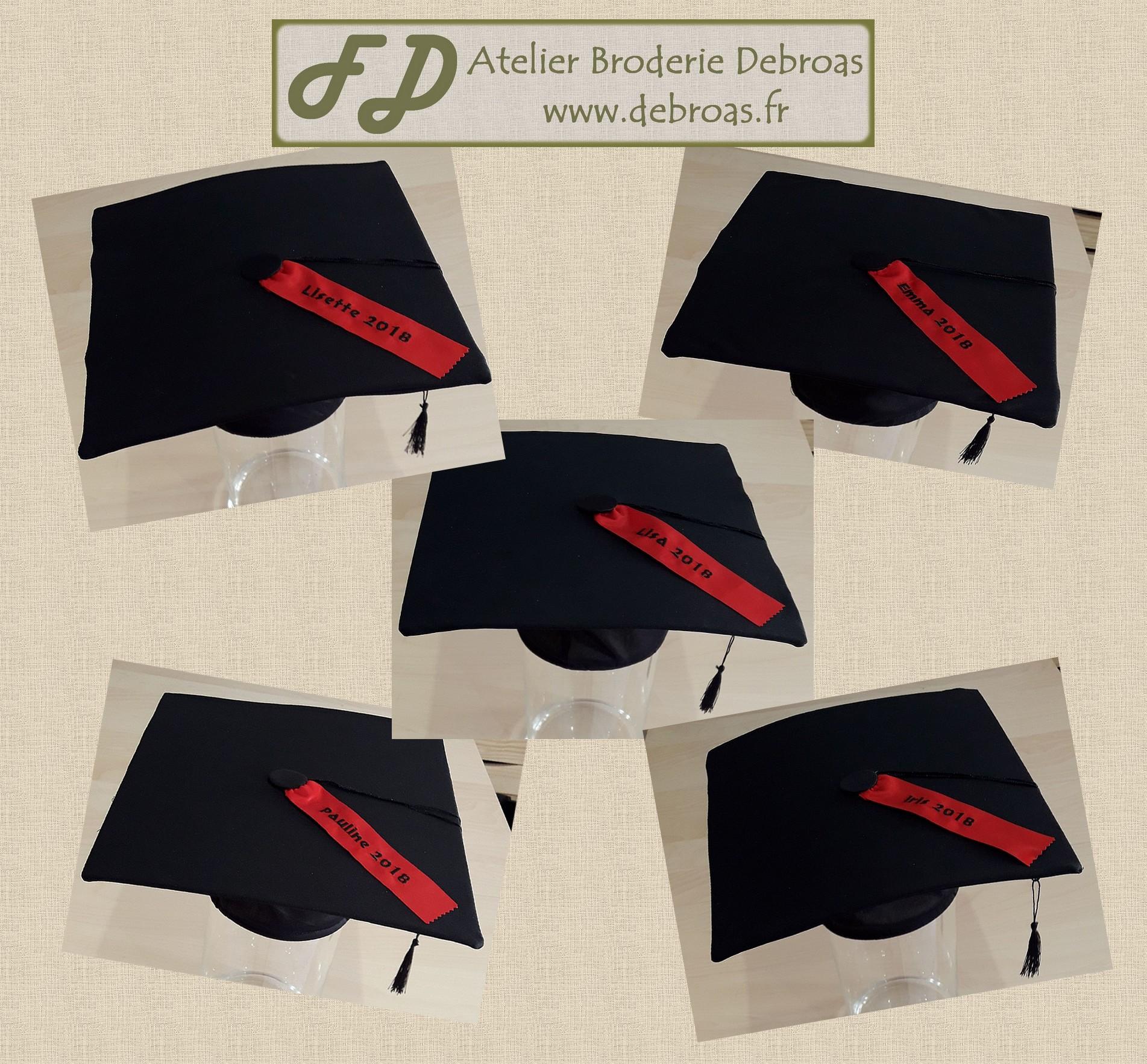 Chapeaux diplômé