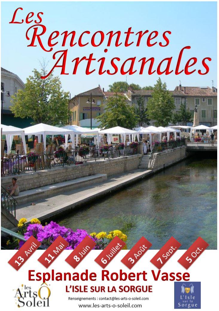Affiche rencontres artisanales de l isle 2019