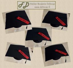 027 - Chapeaux diplome