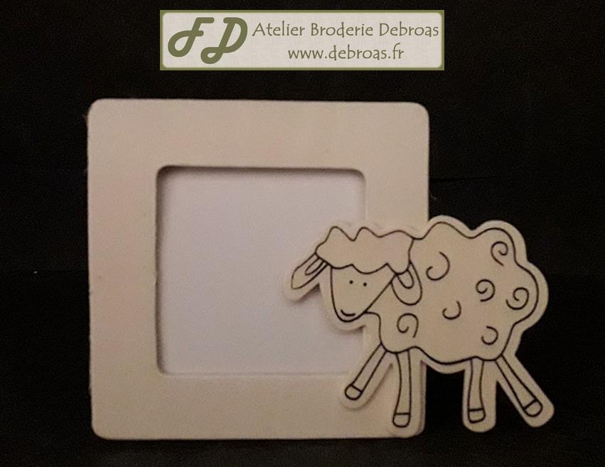 Gc 101248 cadre mouton