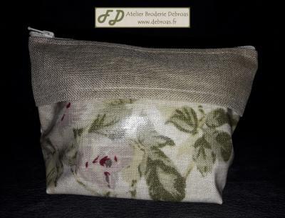Lbdd tce10 trousse fleur coton enduit