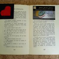 Marque page coeur situation