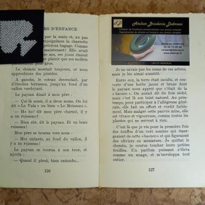 Marque-page Pique