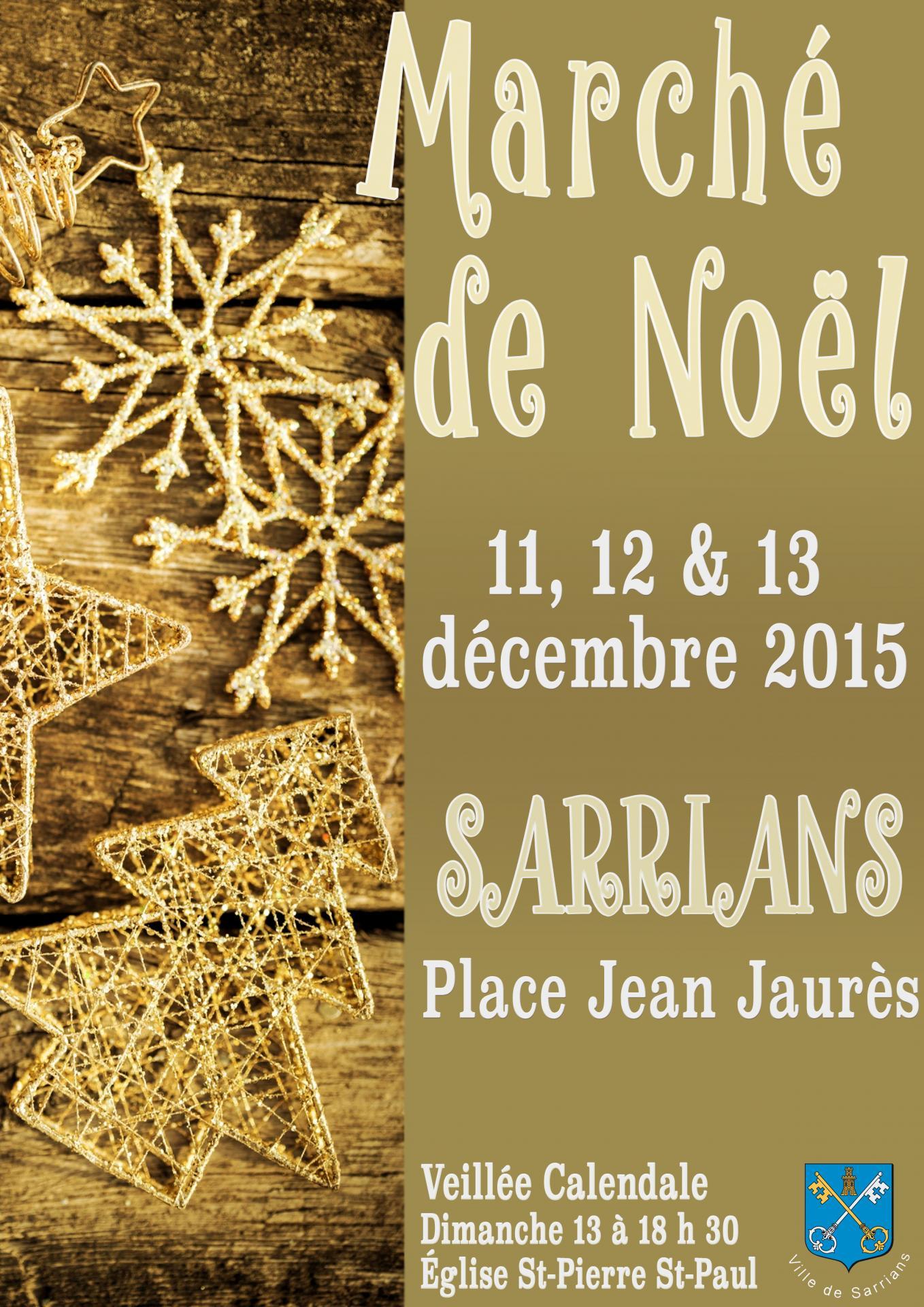 Marché de Noël Sarrians
