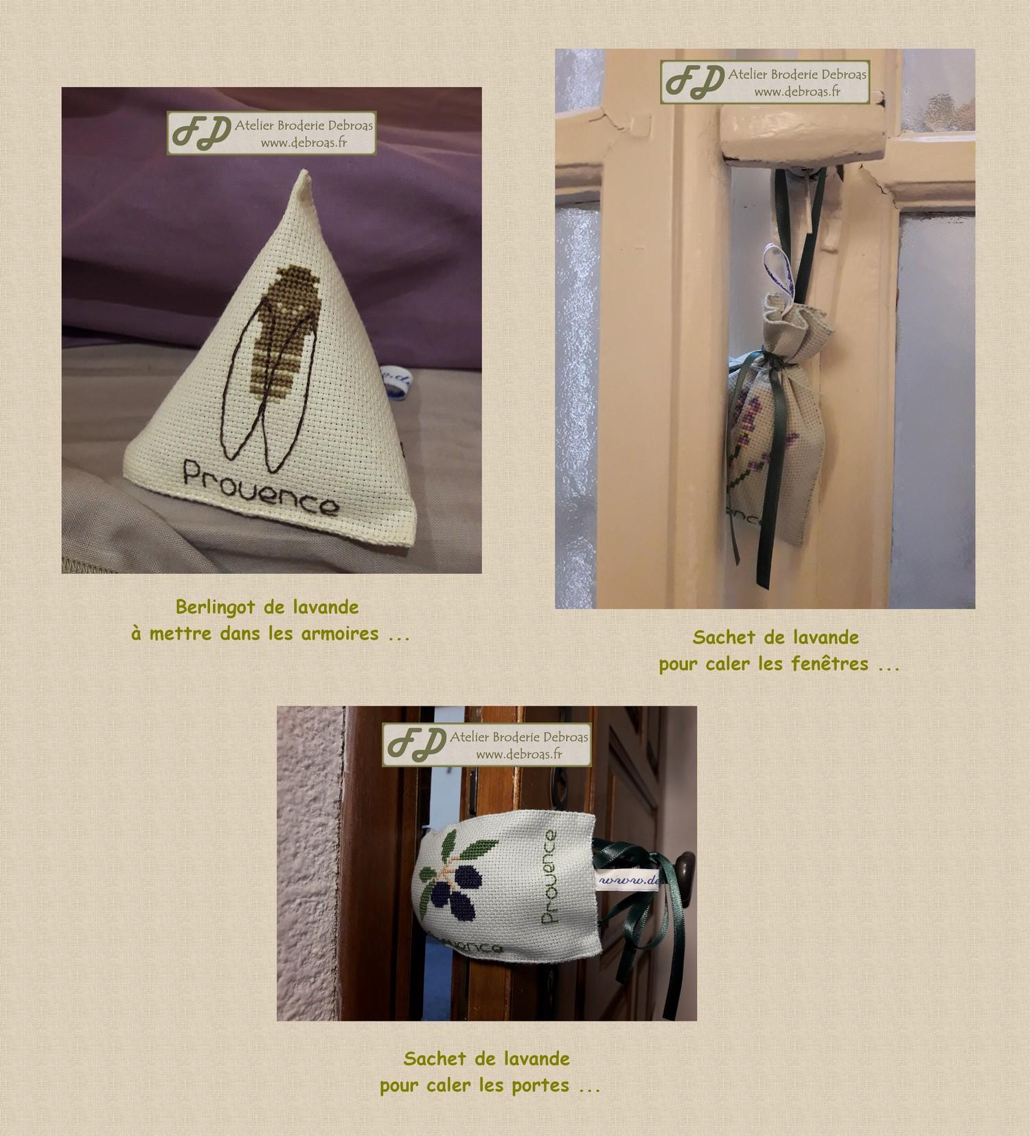 Utilisation des sachets de lavande internet